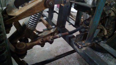 Как сделать рулевую для минитрактора?
