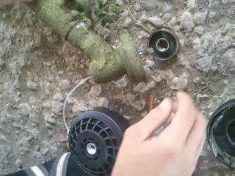 как открутить катушку на триммере
