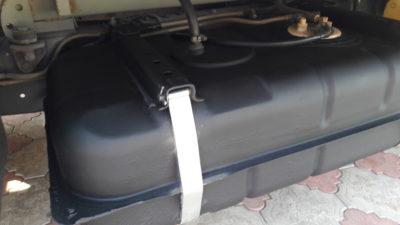 Сколько литров бензина в баке газель?